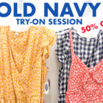 Old Navy Try-On Session: 50% off Memorial Day Sale!